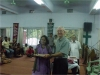 Presenting Certificate for Bible Study Course