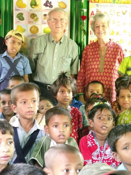 Recent trip to Bangladesh school