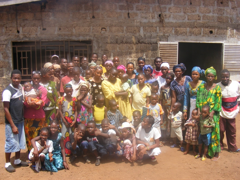 Seminar attendees in Guinea