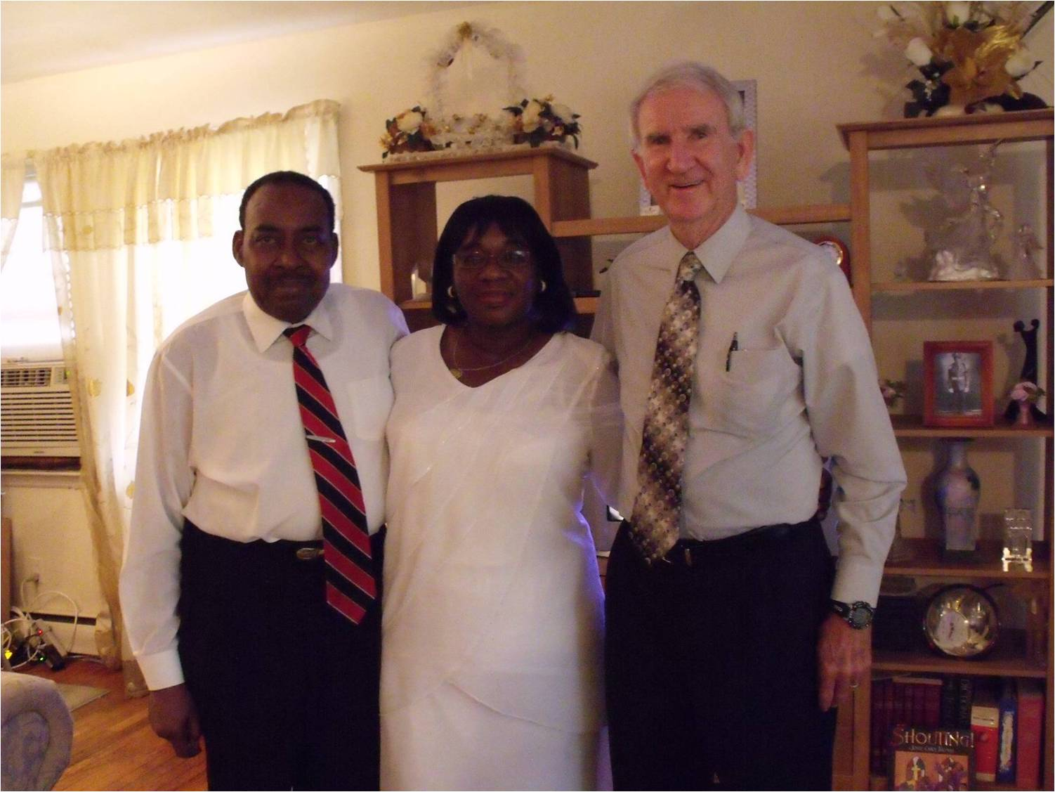 Bishop Maurice Robert & his wife, Susan