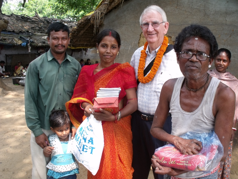 Recent trip to India visiting the leprosy home