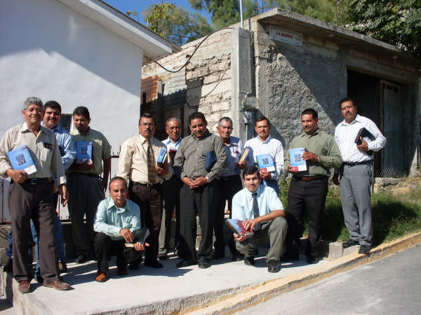 Pastors received new study Bibles