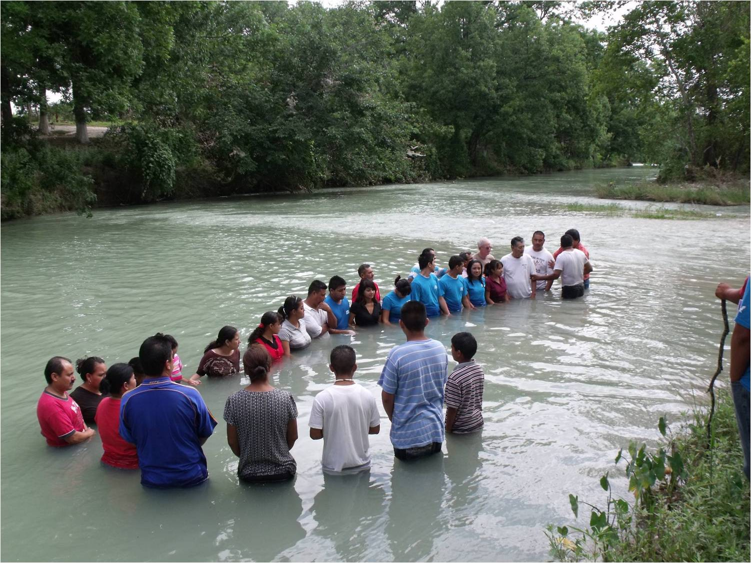 Baptism at Jimenez, Mexico