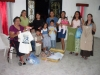 Used clothing given to our church family in Mexico