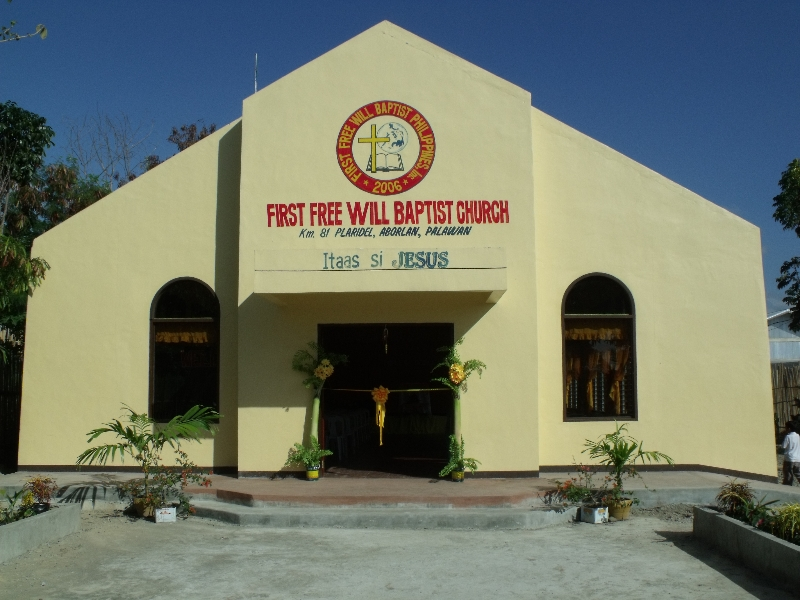 Plaridel FWB Church in Palawan, Philippines