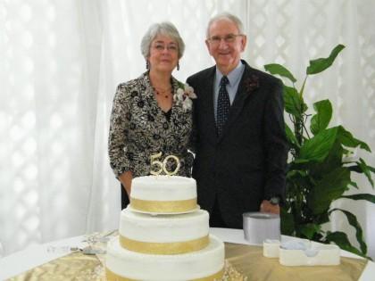 Harold & Sandra at 50 Year Celebration