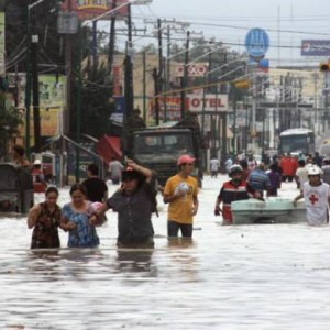DEVASTATING FLOOD HITS PIEDRAS NEGRAS, MEXICO