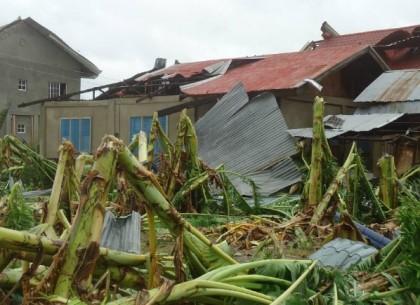 Aftermath of the Super Typhoon Yolanda