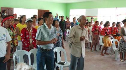 Talaingod Church Dedication