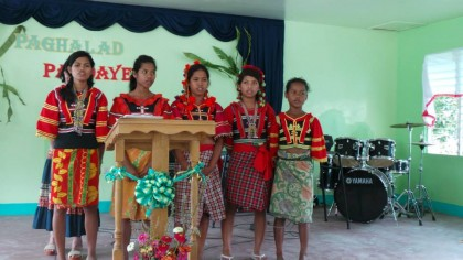 Talaingod Church Dedication